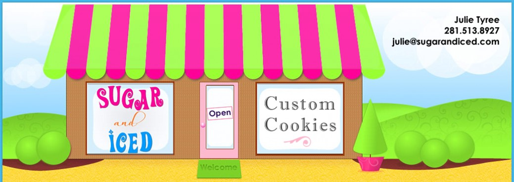 Sugar and Iced Custom Cakes Cookies Cupcakes
